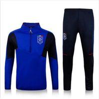 american football training jerseys - 2016 Italy football kits soccer tracksuit survetement football training suit jogging suit Soccer Jerseys best quality Sportswear S__XL