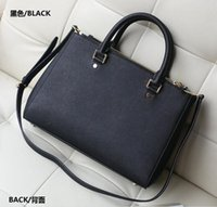 Wholesale M fashion handbags double zipper European and American style cross pattern shoulder diagonal package formula HJIA511