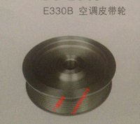 air conditioning pulley - Digging machine parts Carter E330B conditioned air conditioning pulley pulley Carter CAT330B good