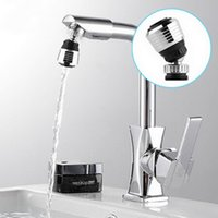 Wholesale 360 Degree Water Bubbler Swivel Head Saving Tap Faucet Aerator Connector Diffuser Nozzle Filter Mesh Adapter