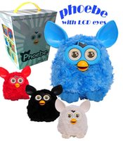 Wholesale Furby Plush Toy Talking Phoebe with LCD Eyes Firbi dolls Recording Pelucia Electronic Toys electronic pet toys Xmas Gift for kids D463