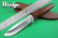 african rosewood - WEDGE Webley Scott WS Small African Hunter Fixed Blade Knife Survival Camping Hiking Fruit Home Knives Outdoor Gear Tools Rosewood Handle