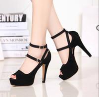 Wholesale genuine patent leather ladies peep toe pumps woman pumps classic shoes platform high heel platform wedding shoes