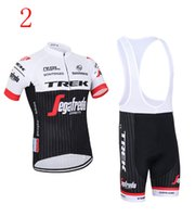 Cheap 2016 Tour De France Quickstep TREK Cycling Jersyes Shot Sleeves Jersey+Bib None Bib Pants Quick Dry Bike Wear Size XS-4XL Bicycle Clothing
