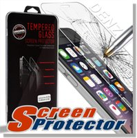 Wholesale For Iphone s s plus Screen Protector Film Tempered Glass For S6 Samsung S7 G5 For iPhone plus iphone Samsung S5 Note retailbox