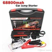 Wholesale Portable High Capacity mah V Car Jump Starter Emergency USB Power Bank Battery Charger for Petrol Diesel Car A Peak Current SOS