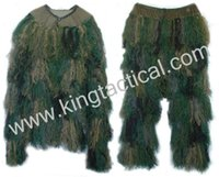 Wholesale Camo ghillie sniper tactical camouflage suit hunting paintball ghillie suit on slae
