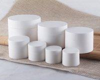Wholesale 1000pcs g white color cream bottle cosmetic container cream jar Cosmetic Jar Cosmetic Packaging
