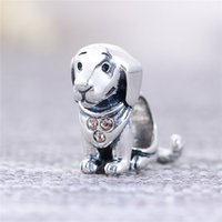 animal jacks - Jack Russell Terrier silver dog beads free ship Animals fit Bangle Bracelets No95 X212