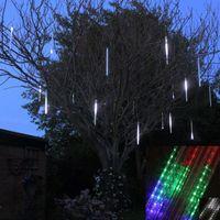 Wholesale 2016 New cm Meteor Shower Rain Tubes Christmas String Light Tree Decoration Led Lamp V EU US Plug Holiday Light