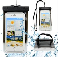 abs adjustable strap - 5 Waterproof Case IPX8 Water resistant Swimming Pouch Adjustable Strap Arm band Waterproof Bag for iPhone S Plus s SE