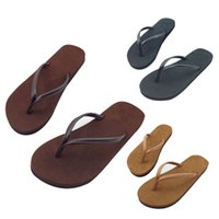 Wholesale excellent quality HOT Casual Couples Summer Flip Flops Shoes Sandals Lovers Slipper Indoor Outdoor Couples slippers