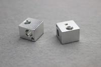 aluminum blocks for sale - Hot sale Aluminum heat Block for kossel delta D Printer accessories Extruder Hot End mm