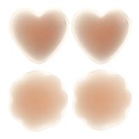 Wholesale 2016 New Update Women Silicon pads Invisible Nipple Cover Breast Petals Pad Silicon bra