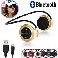 Wholesale Mini mini503 mini Bluetooth stereo Headphone Bluetooth stereo V2 headset Fashion Sport Running Headsets Studio Headphone