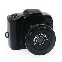 Nueva completa 640 * 480 Y2000 la mini cámara más pequeña afilar micro DVR videocámara espía Mini DVR ocultada micro vídeo