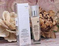 Wholesale Famous LC Teint Miracle Natural Light Creator Bare Skin Makeup Foundation ML Sun Block Brighten Concealer Moisturizer Whitening Mini pore