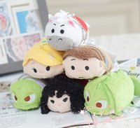baby tangle - 6 style New arrive Tsum Tsum mini plush Tangled Rapunzel Princess Mini quot Plush Toy stuffed soft baby doll for children gift