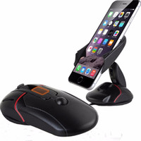 apple mouse support - 2016 newest car windshield dashboard cute mouse car phone holder suction cup base to support all phones