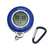Wholesale in mini electronic compass altimeter barometer altimeter thermometer