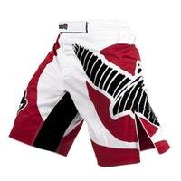 all'ingrosso hayabusa mma-All'ingrosso-La nuova formazione Hayabusa Muay Thai combattimenti Fitness Pantaloni Sport di combattimento Tiger Muay Thai Hayabusa pantaloncini abbigliamento Pugilato
