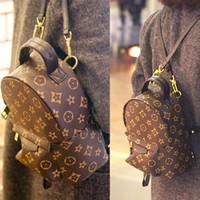Wholesale 2016 new Korean tide Mini Backpack Bag Lady shoulder Cross Leather Handbag presbyopia small backpack female