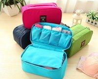 Wholesale New Design Waterproof Travel Pouch Nylon Multifunction Make up Portable Underwear Bag Luggage Storage Bra Organizer