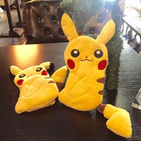 apple coins - New D Poke Pikachu Plush Coin Purse For Iphone S Plus I6 Soft TPU Case Doll Cute Cartoon Zipper pocket Monster Skin Cover Luxury