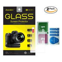 Wholesale pieces Deerekin D Edge mm Tempered Glass LCD Screen Protector for Panasonic Lumix DMC GH4 DMC GH4