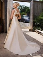 Wholesale special back design evening dresses