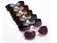 beach boys style - 50PCS hot sale classic style M K sunglasses women and men modern beach sunglasses Multi color sunglasses