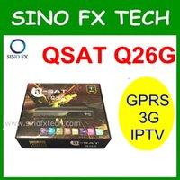 africa satellite tv - DHL free Africa dstv receiver g dongle cheap price satellite tv receiver q sat q26g qsat g