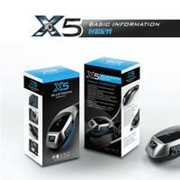 auto music player - DHL lotSMART X5 Bluetooth FM Transmitter Car Kit MP3 Music Player Handsfree Bluetooth Speakerphone Wireless Hands Free Auto