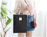 Wholesale office lady briefcases handbag Zipper Liner Sleeve Bag Cover Case For ALL Laptop Macbook Air Document handbags Accessory Pouch