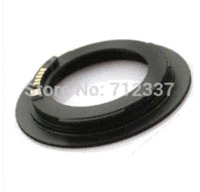 Wholesale M42 Lens Adapter Ring black AF Confirm Mount Adapter For M42 Lens to C EF Camera D EOS D Mark
