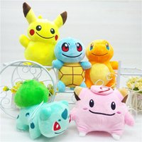 Wholesale Hot Sale quot cm Poke Pocket Monsters Pikachu Charmander Squirtle Bulbasaur Clefairy Plush Doll Stuffed Toy