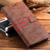 Wholesale Wallet Case For iPhone S Plus S Plus Matte Leather Magnetic Flip Stand Wallet Photo Frame Phone Cover