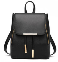 Wholesale 2016 new PU leather leisure shoulders backpack
