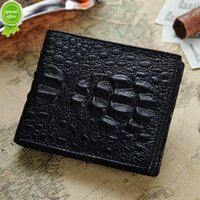 agent printing supplies - Man wallet hand package crocodile grain New pattern Suit package Man wallet Genuine leather foreign trade supply of goods agent