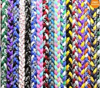 american power sports - Fashion Braide Power Collar Titanium Sports Baseball Tornado Twister Braided Rope Necklace Healthy Braided Necklace Mix Colors tx1