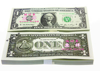 Wholesale USA Learning Dollars Bank Staff Training Banknotes Learning Banknotes Christmas Arts Gifts Collect for Home Decor Crafts