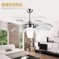 Wholesale ultra quiet ceiling fan v luxury ceiling fan modern fan lamp for living room innovative ceiling lights with lights