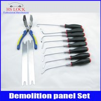 auto supply house - hot sale Door panel sets demolition house door lock opener tools professional locksmith supplies