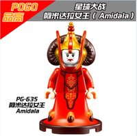 best child models - PG635 Building Blocks Models toys Star Wars Queen Padme Amidala SW387 Clone War Minifigures Building Blocks Action Best Children Gift Toys