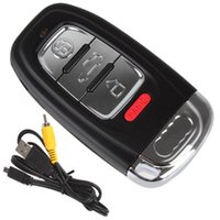 car keys - H Full HD P Mini DU camera spy cam Car Key Hidden Camera Key mini DV DVR Video Recorde Night Vision Motion Detection MINI Camcorders
