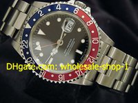 pepsi - 2016 new arrive MENS STAINLESS STEEL GMT DATE WATCH PEPSI