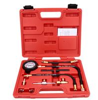 automotive fuel injection - Fuel Injection Pump Injector Tester Pressure Gauge Test Gasoline