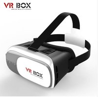 Wholesale 2016 NEW Google cardboard VR BOX II Version VR Virtual Reality D Glasses For the inchs Smart iphone Bluetooth Controller