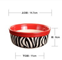 Wholesale Dog Bowl Cat Bowl Cats and dogs eat bowl Dogs and Cats Pet Supplies