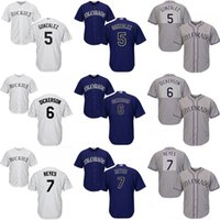 baseballs dickerson - Youth Carlos Gonzalez Corey Dickerson Jose Reyes Colorado Rockies kids Baseball Jersey stitched